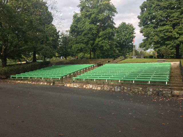 war-memorial-park-View of Bleachers by stage
