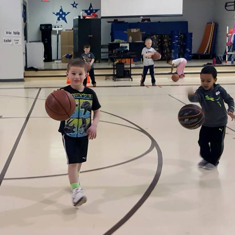Mighty Mites Instructional Basketball