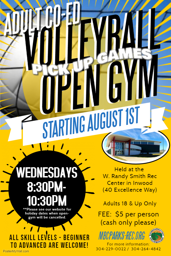 Open Gym Poster